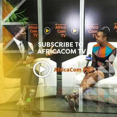 Subscribe to the official AfricaCom YouTube channel by searching for AfricaCom TV