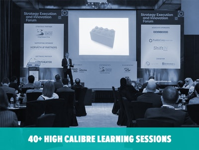 40+ High Calibre Learning Sessions