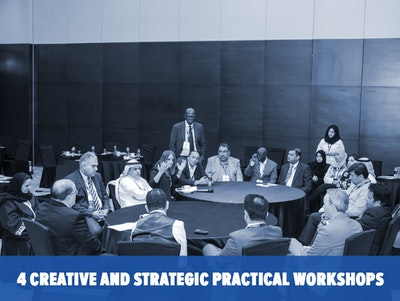 4 Creative and Strategic Practical Workshops