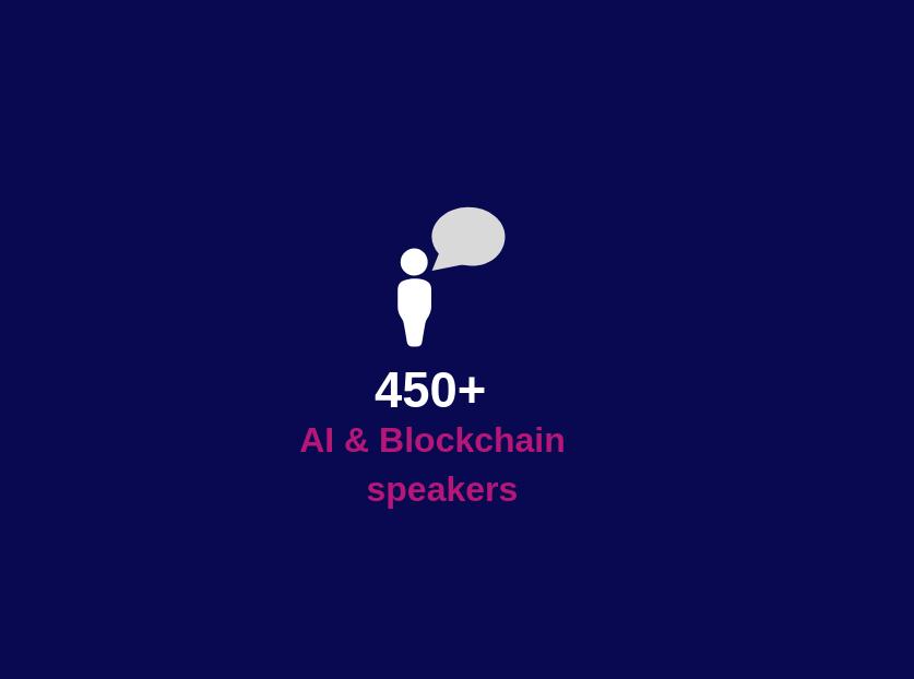 400+ speakers
