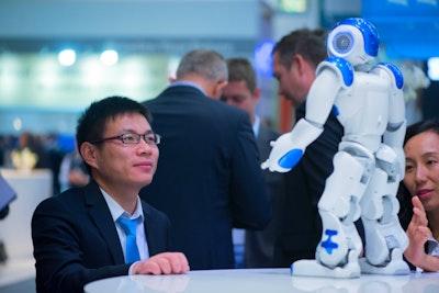 Broadband World Forum robots