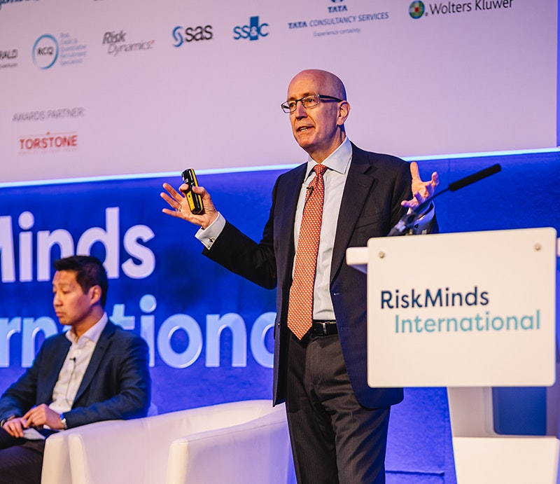 Bruce Fletcher, CRO of RBS at RiskMinds International