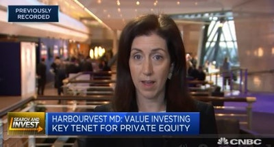 HarbourVest's Bacon: High valuations a key issue for private equity