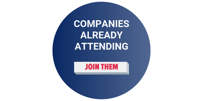 companies already attending - join them