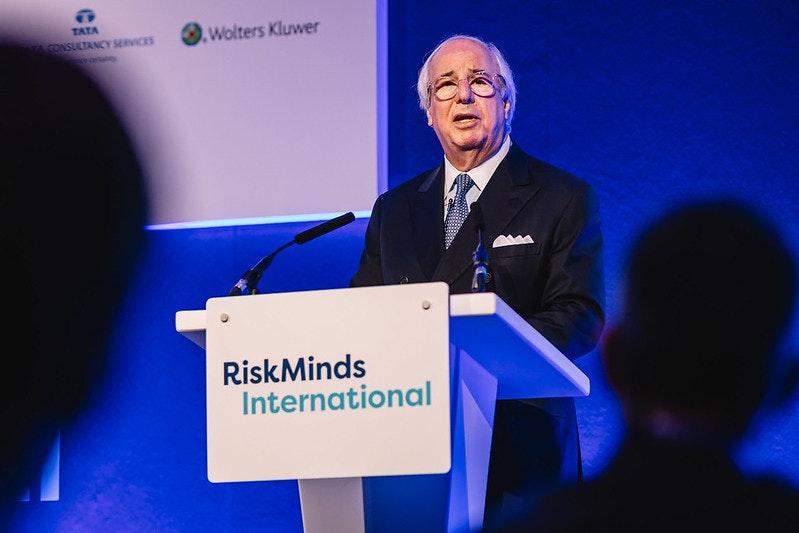 Frank Abagnale at RiskMinds International