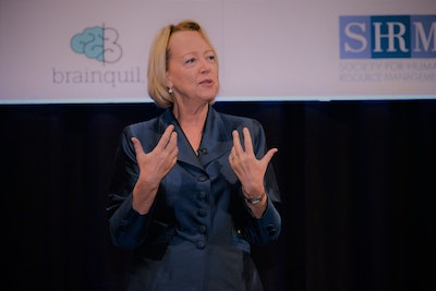 Lynda Gratton at HRSE 2018 - Keynotes & speakers/Thought-Leaders at HR Summit & Expo