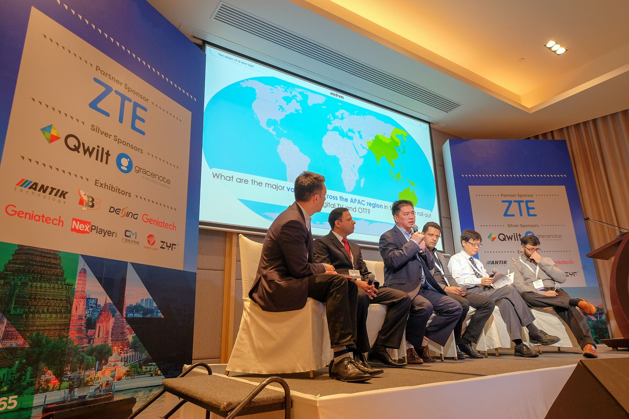 Leading OTT, Pay TV and Broadcasters speaking at Video Exchange Asia in Bangkok