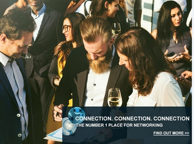 THE NUMBER 1 PLACE FOR NETWORKING