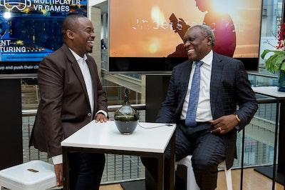 AfricaCom 2018 Networking
