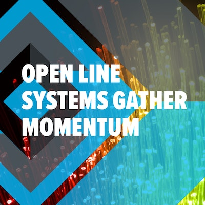 'Open Line Systems Gather Momentum' report cover, click here to download it