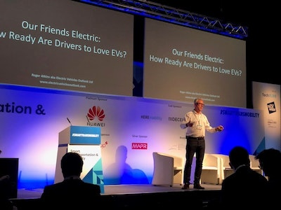 Roger Atkins at Electric Vehicles Outlook Ltd