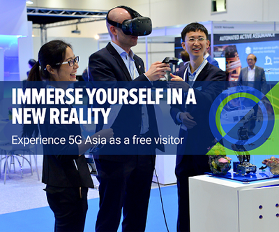 5G Asia Free Visitor Experience